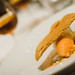 Raincity Grill: North Arm Farm carrot sorbet