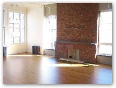 Loft Fireplace