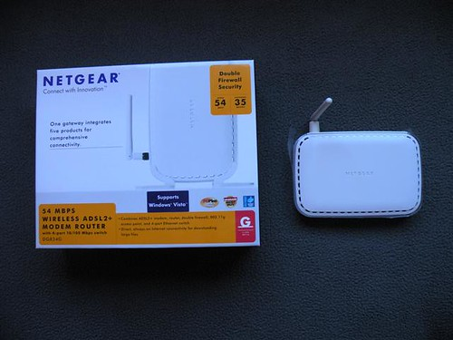 NETGEAR DG834G Mbps Wireless ADSL2+ Modem Router