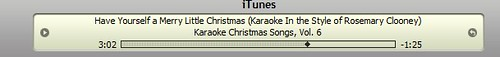 Clooney Christmas Style Karaoke
