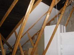 Attic insulation..