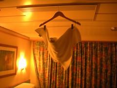 Bat of Towels (kathleenleavitt) Tags: bat towels