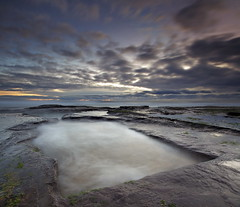 Bungan Ice Pool (Tim Donnelly (TimboDon)) Tags: ocean sea sunrise rocks australia nsw cokin bungan fpg flickrlovers