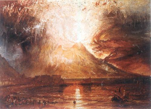 Ausbruch des Vesuvs, 1817 by Turner