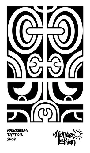 Marquesan Tattoo - For my bicep.
