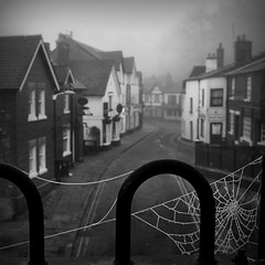 The Village (Chris Beesley) Tags: misty spider interesting village pentax web super spooky explore soe lymm explored k100d 200850plusfaves