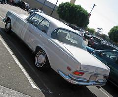 1966 Mercedes 250SE Coupe rear 3q (Ate Up With Motor) Tags: cars hardtop mercedes la losangeles 1966 german coupe w111 250se