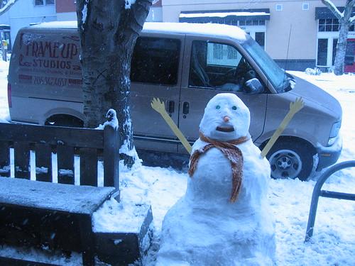 Fremont Snowman