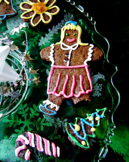 Healthy Gingerbread Cookies, pt. 2