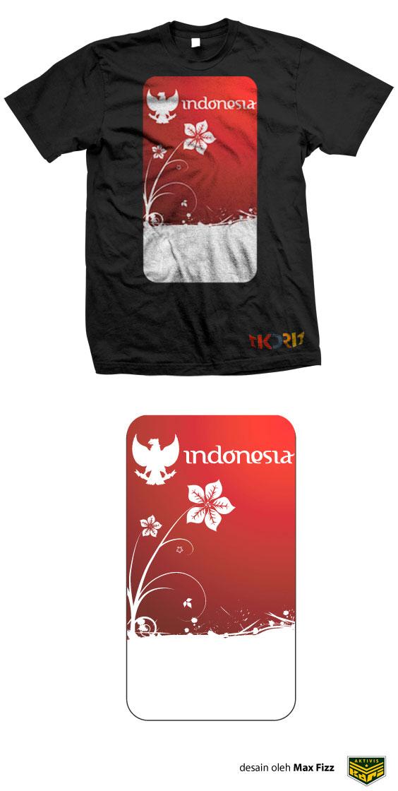 Flower-Flag-Of-Indonesiana-Black