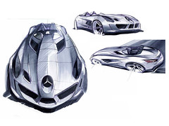 Mercedes SLR Stirling Moss pictures