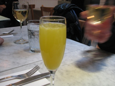 Boxing Day Mimosa