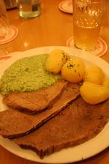 Tafelspitz mit Grüner Soße (Noema Pérez) Tags: frankfurt main sidra meno ebbelwoi schoppe äppler äppelwoi fráncfort ebbelwei stöffche appelwein