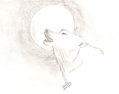 Wolf (Silent Orchestra) Tags: animal sketch wolf drawing silentorchestra wolfdrawing wolfsketch laughlovehope wolfandmoon