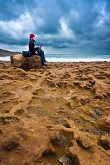 thinking of you (SanchezCastillejo) Tags: art beach mar sara sony sigma playa murcia nubes 1020 lamanga calblanque a700 castillejo
