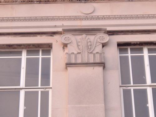 Burton's pillar detailing