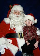 Geoffrey's Santa Picture, 2008 (DNAMichaud) Tags: santa xmas geoffrey 2008