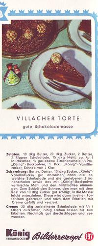 König Bilderrezept: Villacher Torte