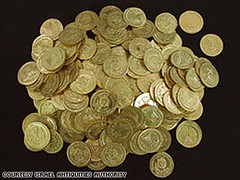 7th century gold coin hoard
