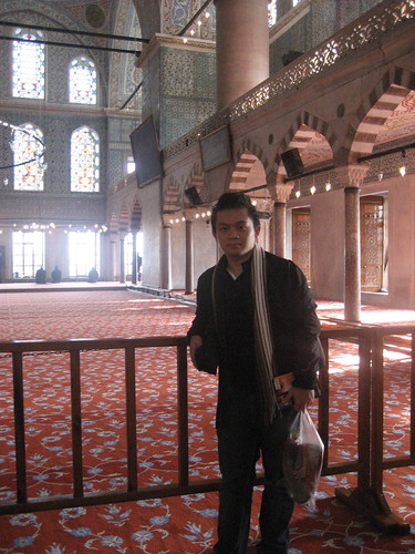 Interior of Blue Mosque
