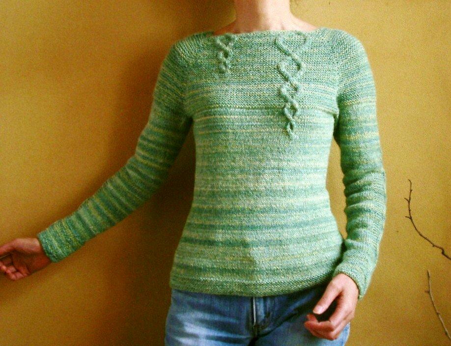 Knit Sweater By ishi-knit