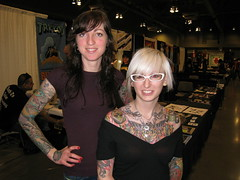 Darcy Nutt @ Star of Texas Tattoo Art Revival 2009 (HeadOvMetal) Tags: art tattoo austin texas january convention 2009 revival staroftexas