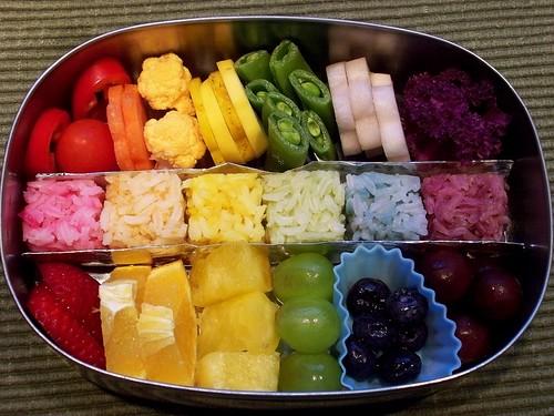 Rainbow Bento 1