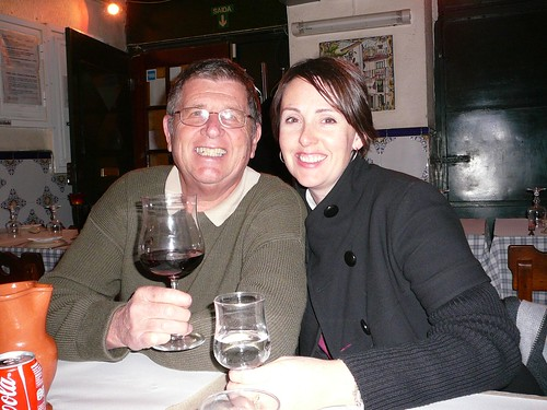 Peter and Jess in Lisbon
