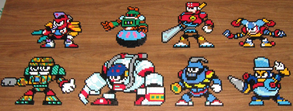 mega man 8 bosses
