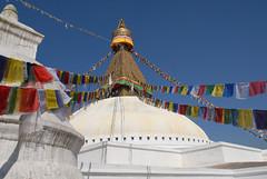 Stupa de Bauda. (teoca