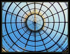 in galleria (Maurizio Bad) Tags: italy italia milano cupola lombardia galleria