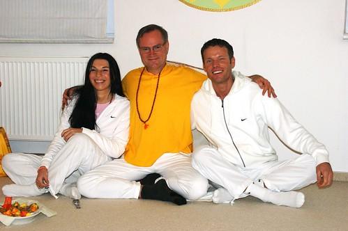 Sukadev, Volker und Birgit