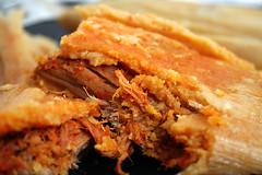 Pork Tamale (mariastamale) Tags: tamales tamale porktamale mariastamale