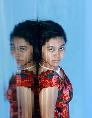 bobo ah.. (Theo Widharto - sheko) Tags: reflection pool girl model maya cantik cewek seseh