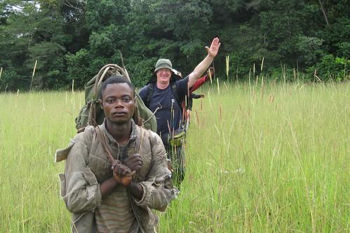 entering the first savanna