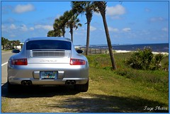 ~ Beauty And The Beach ~ (iTail ~ 3.8 MV ~ Thanks !!) Tags: trip vacation sun beach sand photoshoot 911 bluesky porsche carerras floridapanhandle platinumphoto mexicobeachfl 100commentgroup