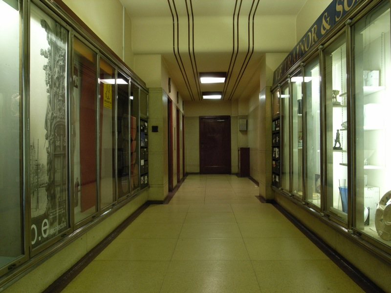 old foyer