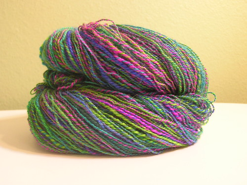 Proud Peacock BFL yarn