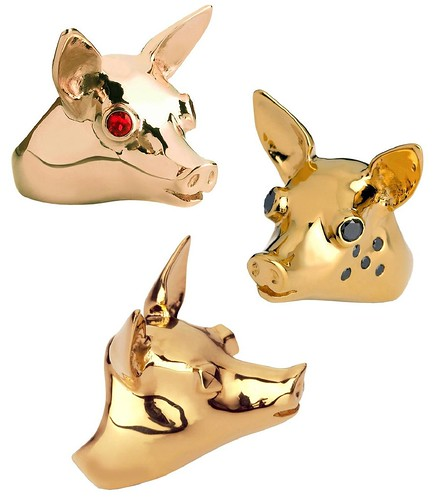 francesa sibylla piggy rings