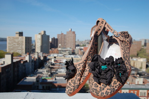 Cheetah Shoes DIY