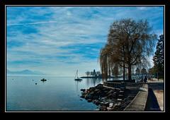 Lausanne au printemps! 4 (Niamor83) Tags: lake switzerland spring suisse pentax lac lausanne leman printemps hdr vaud k10d niamor