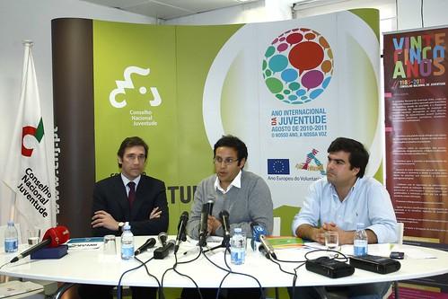 Pedro Passos Coelho no Conselho Nacional Juventude