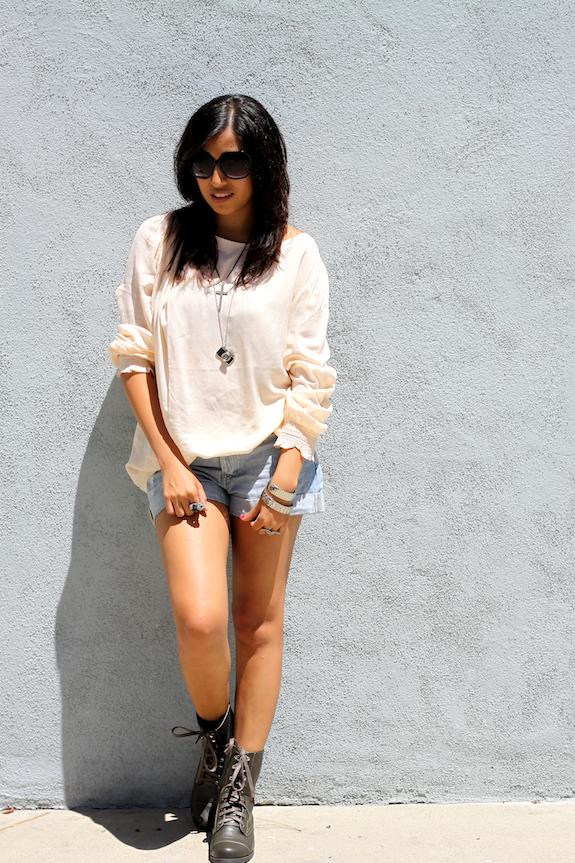 Sheer blouses...