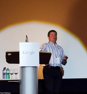 Google's Joe Kava speaking at...</p> <span class=