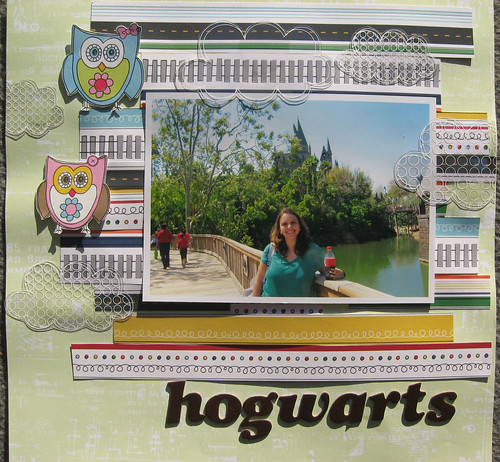 hogwarts by Mônica Castro
