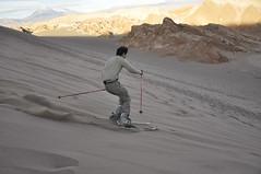 Sandboard dans la Vallée de la Mort