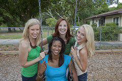 0640-1001-TI-Lifestyle-Women-Blonde-Redhead-African-American- W (Larry Flynn) Tags: park ladies friends nature public beautiful smile smiling female fun outdoors happy athletic healthy women girlfriend humorous friendship natural bright vibrant release daughter swing redhead niece blonde attractive wife africanamerican glowing laughter recreation sweetheart brunette girlfriends radiant enthusiastic exciting active enthusiasm unwind enchanting significantother energetic rejuvenate decompress rejuvenating