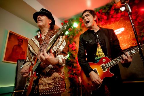 Samuel Rosa e Carlos Santana - Madrid, 07/03/2014