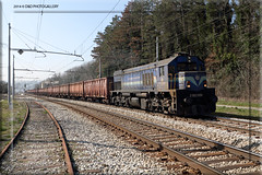 Gornje Leee. (SLO) (Roberto Drigo) Tags: slovenia 2014 treni ferrovie 2062 canoneos7d trenimerci h gornjeleee robertodrigo ddphotogallery
