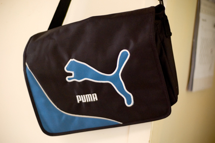 """Authentic"" Puma bag"
